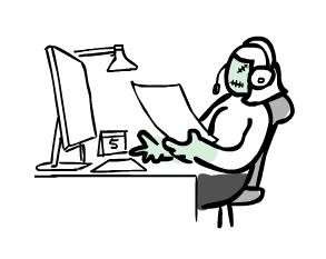 zombie_customer_service