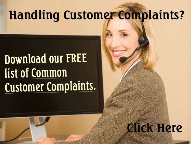 CustomerComplaints